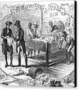 Cotton Gin, 1793 Canvas Print by Granger