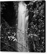 Cranny Falls Waterfall Carnlough County Antrim Northern Ireland Uk Canvas Print by Joe Fox