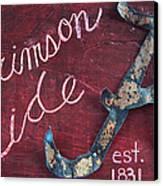 Crimson Tide Canvas Print by Racquel Morgan