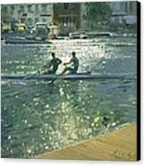 Crossing The Light Break - Henley Canvas Print by Timothy Easton