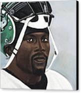Crowning Helmet Canvas Print by L Cooper