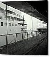 Cruise Ships Canvas Print by Dean Harte