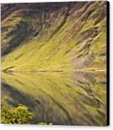 Crummock Water Canvas Print by All my images are taken in the english lakedistrict