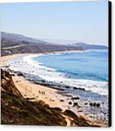 Crystal Cove Orange County California Canvas Print by Paul Velgos