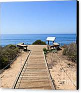 Crystal Cove State Park Ocean Overlook Canvas Print by Paul Velgos