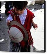 Cuenca Kids 164 Canvas Print by Al Bourassa