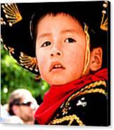 Cuenca Kids 64 Canvas Print by Al Bourassa