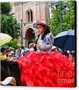 Cuenca Kids 84 Canvas Print by Al Bourassa