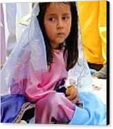 Cuenca Kids 96 Canvas Print by Al Bourassa