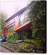 Cullen House Aka Hoke House Canvas Print by Kelly Manning