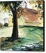 Cupola Canvas Print by Scott Nelson