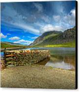 Cwm Idwal Canvas Print by Adrian Evans