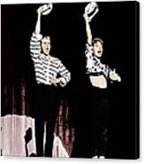 Damn Yankees, From Left Bob Fosse, Gwen Canvas Print by Everett