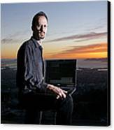 David P. Anderson, Us Computer Scientist Canvas Print by Volker Steger
