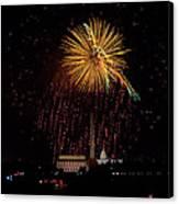 Dc Celebration Canvas Print by David Hahn