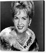 Debbie Reynolds In The 1960s Canvas Print by Everett