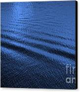 Deep Blue Sea Canvas Print by Carol Groenen
