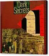 Deep Dark Secrets Canvas Print by Adam Kissel