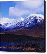 Derryclare Lough, Twelve Bens Canvas Print by The Irish Image Collection