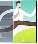Digital Illustration Canvas Print by All images ? Tyler Garrison, 2009.