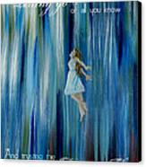Divine Flow Canvas Print by The Art With A Heart By Charlotte Phillips