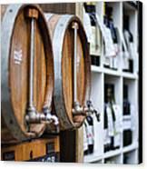 Diy Wine Canvas Print by Heather Applegate