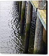 Dock Of The Bay  Canvas Print by Pamela Patch