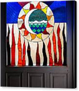 Doorway Of Choice Canvas Print by Al Bourassa