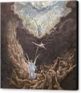 Dor�: Last Judgment Canvas Print by Granger