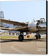 Douglas A26b Military Aircraft 7d15757 Canvas Print by Wingsdomain Art and Photography