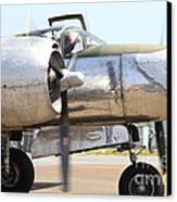 Douglas A26b Military Aircraft 7d15763 Canvas Print by Wingsdomain Art and Photography