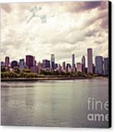 Downtown Chicago Skyline Lakefront Canvas Print by Paul Velgos