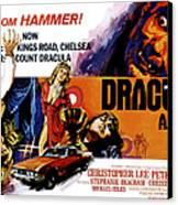 Dracula A.d. 1972, Stephanie Beacham Canvas Print by Everett