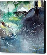 Dream House 2 Canvas Print by Anil Nene