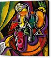Drinks Canvas Print by Leon Zernitsky