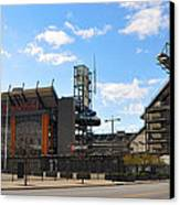 Eagles - The Linc Canvas Print by Bill Cannon