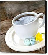 Easter Coffee Canvas Print by Darren Fisher