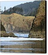 Ecola From Chapman Pt. Canvas Print by Steven A Bash