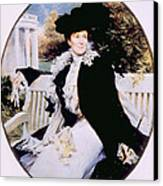 Edith Roosevelt 1861-1948, First Lady Canvas Print by Everett