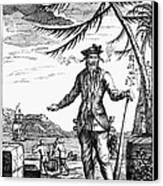 Edward Teach (?-1718) Canvas Print by Granger