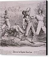 Effects Of The Fugitive-slave-law Canvas Print by Everett