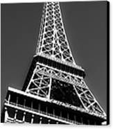 Eiffel Tower Vegas Style Canvas Print by Leslie Leda