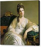 Eleanor Francis Grant - Of Arndilly Canvas Print by Tilly Kettle