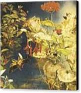 Elves And Fairies A Midsummer Night's Dream Canvas Print by John George Naish