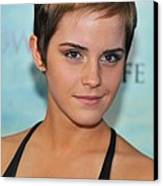 Emma Watson At Arrivals For Harry Canvas Print by Everett