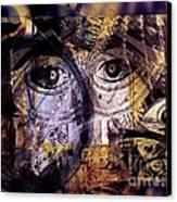 Emotional Attachment- Free Me Canvas Print by Fania Simon
