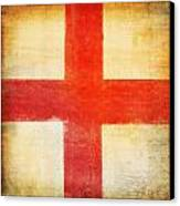 England Flag Canvas Print by Setsiri Silapasuwanchai