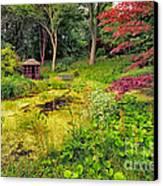 English Garden  Canvas Print by Adrian Evans