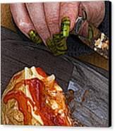 Enjoy Canvas Print by Barry Hayton