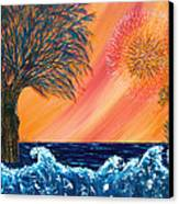 Europa Tsunami Canvas Print by Pm Ernst